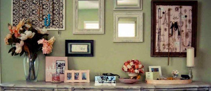 Easy Spring Antique Home Decor Ideas